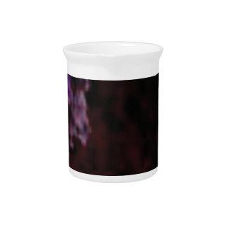 dark purple mysterious texture pitcher