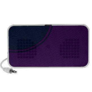 Dark purple notebook speaker