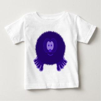 Dark Purple Pom Pom Pal Baby T-Shirt
