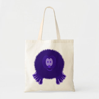 Dark Purple Pom Pom Pal Bag