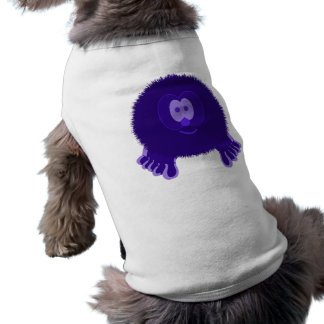 Dark Purple Pom Pom Pal Dog Tee