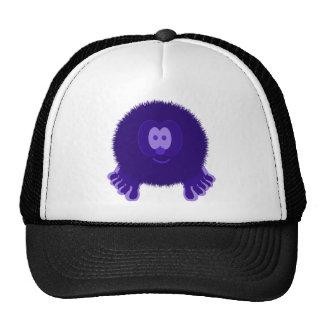 Dark Purple Pom Pom Pal Hat