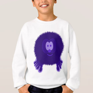 Dark Purple Pom Pom Pal Sweatshirt