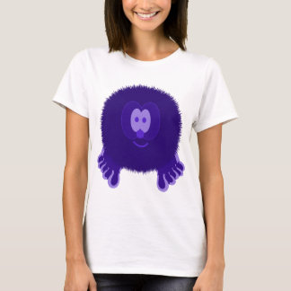 Dark Purple Pom Pom Pal T-Shirt