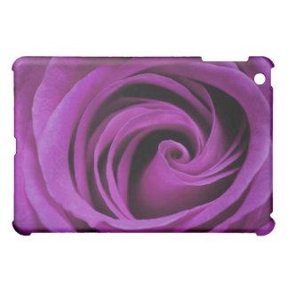 Dark Purple Rose iPad Case