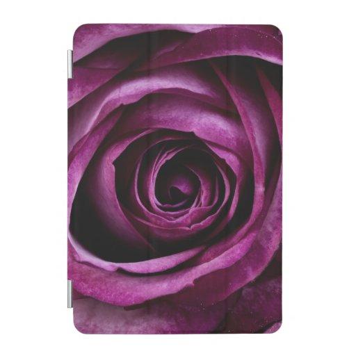 Dark Purple Rose iPad Mini Cover