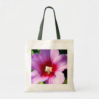 Dark purple Rose of Sharon Tote Bag