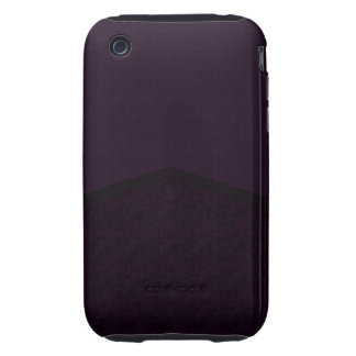 Dark purple texture point tough iPhone 3 covers