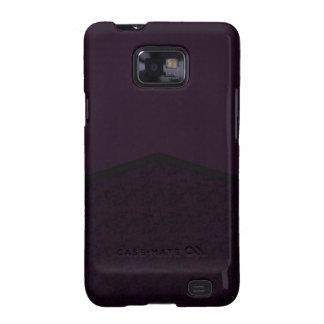 Dark purple texture point samsung galaxy SII case
