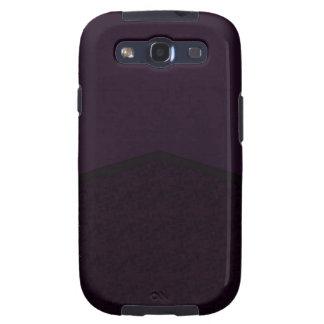 Dark purple texture point galaxy SIII cases