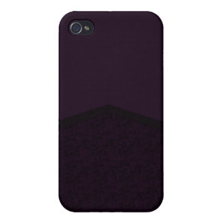 Dark purple texture point cover for iPhone 4