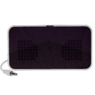 Dark purple texture point portable speakers