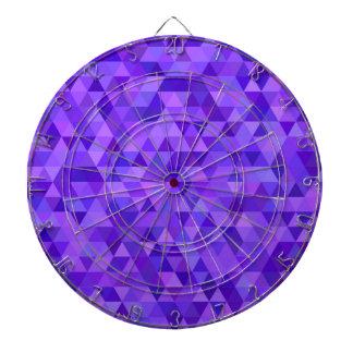 Dark purple triangle pattern dartboards
