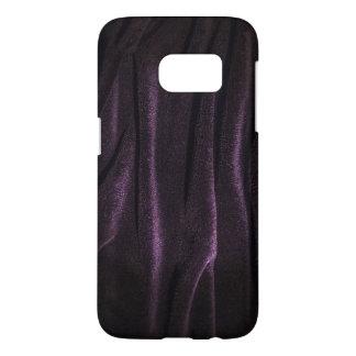 Dark Purple Velvet Samsung Galaxy S7 Phone Case