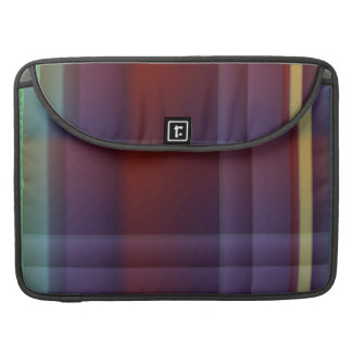 Dark Quilt flapsleeve Sleeve For MacBook Pro