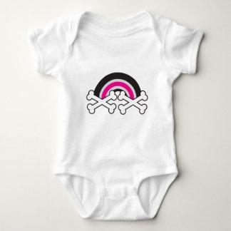 Dark Rainbow Baby Bodysuit