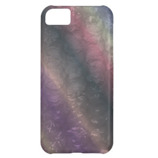 Dark Rainbow Bubble Wrap Effect Cover For iPhone 5C