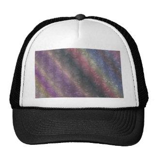 Dark Rainbow Bubble Wrap Effect Trucker Hat