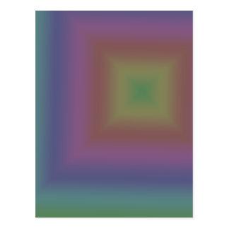 Dark Rainbow Postcard