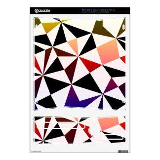 Dark Rainbow Triangle Design Xbox 360 S Skin