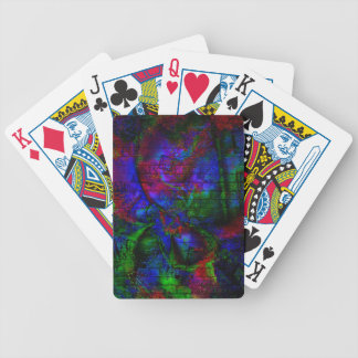 Dark Rave Graffiti Bicycle Playing Cards