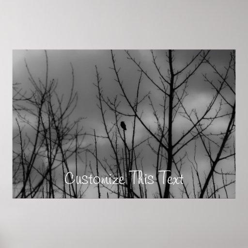 Dark Raven; Customizable Posters