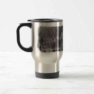 Dark Raven; Customizable Travel Mug