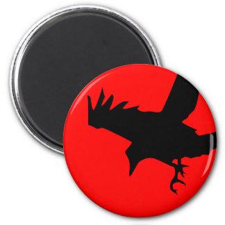 Dark Raven Fridge Magnet