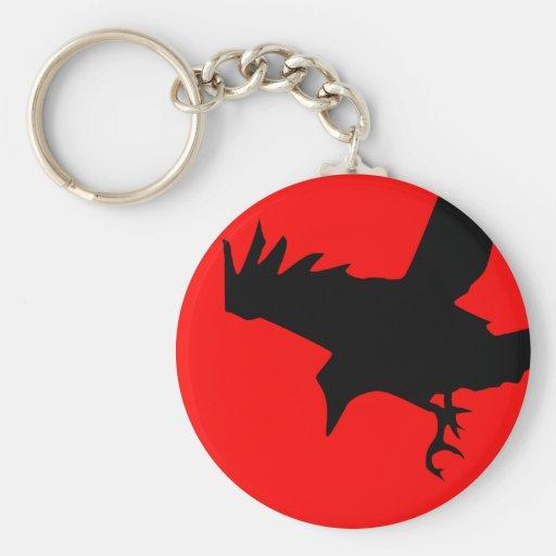 Dark Raven Key Chains
