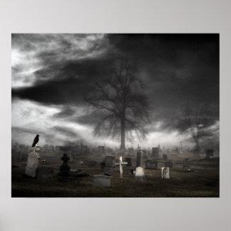 Dark Raven Poster