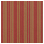 [ Thumbnail: Dark Red and Brown Lines/Stripes Pattern Fabric ]