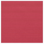 [ Thumbnail: Dark Red and Crimson Stripes/Lines Pattern Fabric ]