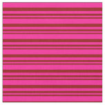 [ Thumbnail: Dark Red and Deep Pink Colored Pattern Fabric ]