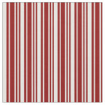 [ Thumbnail: Dark Red and Mint Cream Colored Pattern Fabric ]