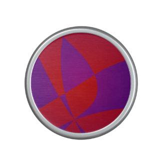 Dark Red and Navy Purple Speaker
