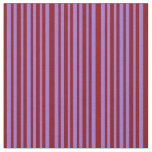[ Thumbnail: Dark Red and Purple Colored Lined Pattern Fabric ]