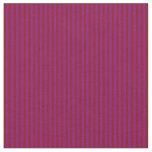 [ Thumbnail: Dark Red and Purple Stripes Fabric ]