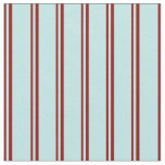 [ Thumbnail: Dark Red and Turquoise Colored Stripes Fabric ]