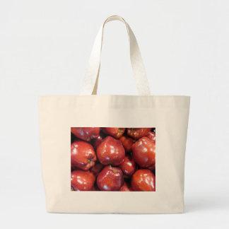Dark Red Apples Bags