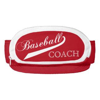 Dark Red Baseball Coach Visor