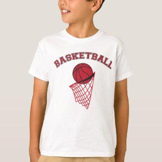 Dark Red Basketball | Sports T-Shirt