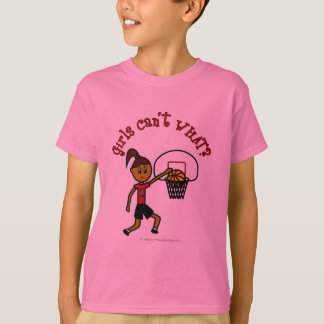 Dark Red Basketball T-Shirt