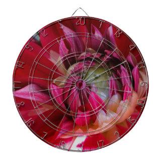 dark red blossom dartboards