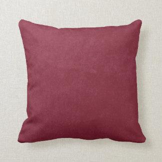 Burgundy Red Pillows - Decorative & Throw Pillows Zazzle