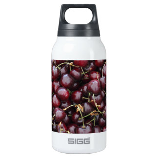 Dark Red Cherries in a Market Display SIGG Thermo 0.3L Insulated Bottle
