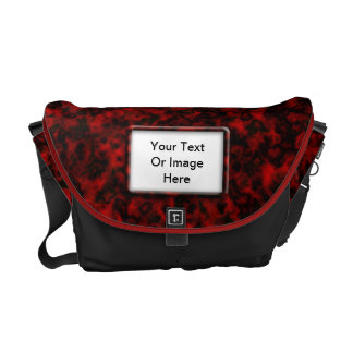 Dark Red Cloud Photo Frame Bag