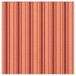 [ Thumbnail: Dark Red & Coral Colored Pattern Fabric ]