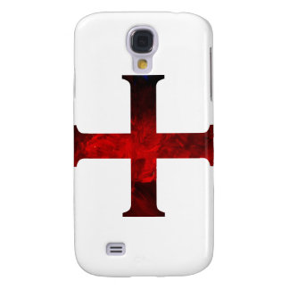 Dark Red Cross Pattee Galaxy S4 Cover