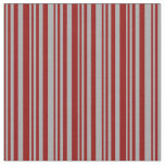 [ Thumbnail: Dark Red & Dark Grey Colored Pattern Fabric ]