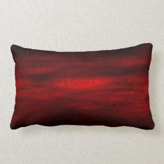 Dark Red Dreams Throw Pillow